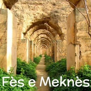 Hotel, riad e strutture di charme nelle antiche città imperiali di Fès e Meknès, a breve distanza dal sito archeologico di Volubilis; tre siti patrimonio dell'Unesco nel raggio di 60 km.