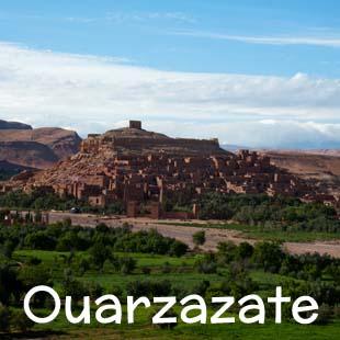 Hotel, riad e strutture di charme a Ouarzazate, crocevia naturale del Marocco del Sud, a breve distanza da Ait Benhaddou, lo ksar più famoso del Marocco, patrimonio dell'Unesco.
