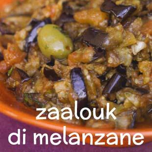 Uno dei più gustosi antipasti del Marocco, che può anche essere servito come contorno oppure utilizzato per farcire verdure.