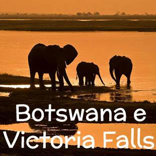 Un viaggio tutto natura in uno degli ultimi paradisi terrestri, che saprà affascinare tutti gli amanti degli animali e gli appassionati di fotografia, che potranno regalarsi scatti indimenticabili. Dalle Cascate Vittoria al Deserto del Kalahari passando per il Parco Chobe  e Delta dell'Okavango.